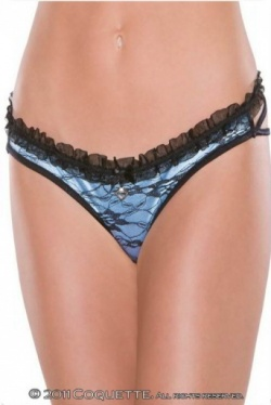 Strappy Panty Coquette 122